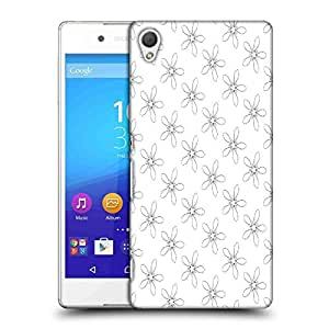 Snoogg Floral Grey Pattern Designer Protective Phone Back Case Cover For Asus Zenfone 6