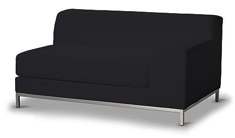 Dekoria Fire Retarding IKEA KRAMFORS 2er Sofa rechts Cover–Schwarz
