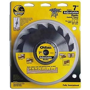 Porter Cable 7005012 Oldham 7 In Adjustable Dado Blade