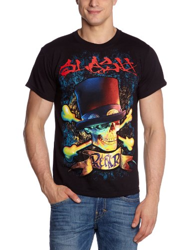 Collectors Mine - Slash - R & Fnr, T-shirt da uomo,  manica corta, collo rotondo, Nero (Schwarz (Schwarz)), XX-Large