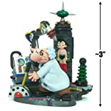 """Wake Up! Atom (Dr. Tenma and Atom) ~3"""" Diorama Figure - Astro Boy [Classic Version] Diorama K.T Figure Collection (Japanese Import) ~ Astro"""