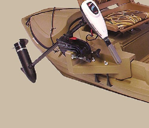 2000 Series Beavertail 400223 Stealth Duck Hunting Boat Motor Mount