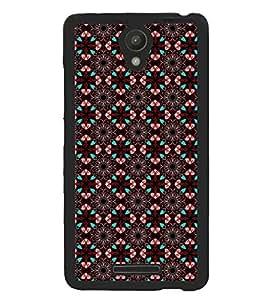 Printvisa Brown Diamond Pattern Back Case Cover for Xiaomi Redmi Note 2::Xiaomi Redmi Note 2 (2nd Gen)