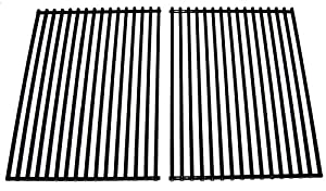 Music City Metals 56202 Porcelain Steel Wire Cooking Grid Replacement for Select BBQ Grillware and Steelman Gas Grill Models, Set of 2 by Music City Metals