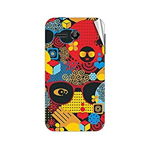Garmor Designer Mobile Skin Sticker For Huawei Honor Bee Y541 U02 - Mobile Sticker