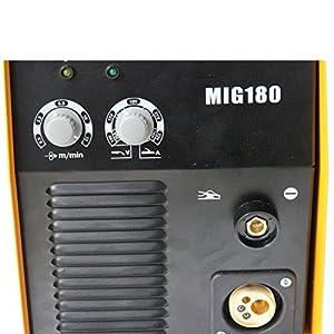 GTSUN MIG180 180AMP DUAL GAS NO GAS GASLESS MIG MAG DC INVERTER Welder Machine Welding Flux Core Flux Wire Auto Feed by GTSUN