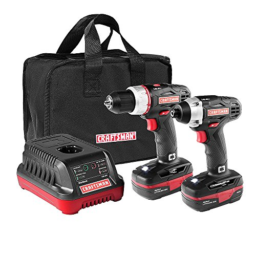 Lowest Prices! Craftsman C3 19.2 Volt Drill and Impact Driver Combo Kit