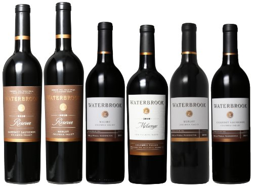 Waterbrook Ravishing Red Wines Mixed Pack, 6 X 750 Ml