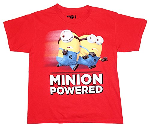 Despicable Me 2 MINION POWER Big Boys Tee T-Shirt Top