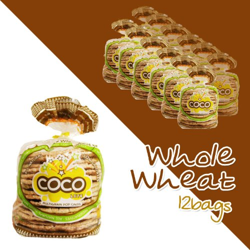 Coco Lite Whole Wheat Pop Cakes