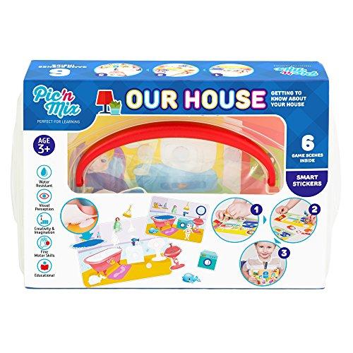 Picnmix La Nostra Casa Giochi e Giocattoli Educativi per bambini di 3 anni a 7 anni