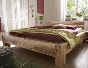 stilbetten bett holzbetten massivholzbett tanna eiche ge lt 140x200 cm k che. Black Bedroom Furniture Sets. Home Design Ideas