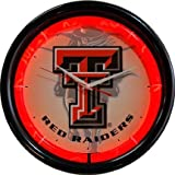 Texas Tech Red Raiders Plasma Neon Clock at Amazon.com