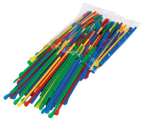 Paragon Sno-Cone Spoon Straws, Multicolor, 200-Count (Good Snow Cone Machine compare prices)