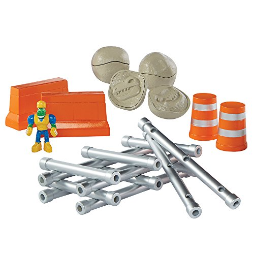 Educational Insights Dino Construction Company Build and Smash Construction Set