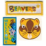 Beaver Scout Blanket / Poncho Badges Pack of 3