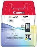 Canon - CL 511 - Cartouche d'encre d'origine - cyan, magenta, jaune