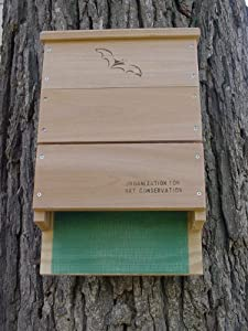 Looker Products Triple Chamber Bat House, Approved by the Organization for Bat Conservation