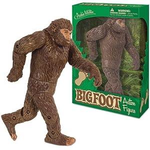 Posable Bigfoot Sasquatch Action Figure