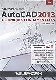 Apprendre Autodesk Autocad 2013 - Techniques fondamentales (Kamel Kadri) Apprenez à utiliser les principes fondamentaux d'AutoCAD 2013 logiciel CAO/DAO de référence en dessin industriel - Formation vidéo complète en + de 6h30 - DVD-Rom PC-Mac...