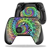 MightySkins Protective Vinyl Skin Decal for Valve Steam Controller case wrap Cover Sticker Skins Tripping (Color: Tripping, Tamaño: Valve Steam Controller)