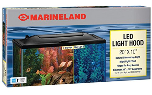 Marineland LED Light Hood, 20-Inch by 10-Inch (Fish Tank Hood Light compare prices)