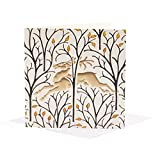 V&A Christmas Cards - The Deer in the Forest (Pack of 10)||EVAEX