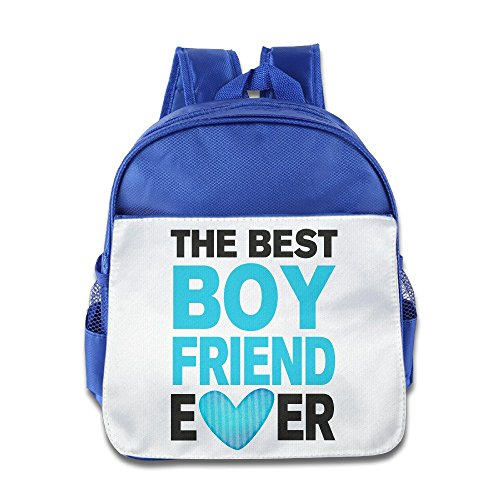 LINNA Personalized Best BOYfriend Ever Teenager School Bag Backpack For 1-6 Years Old RoyalBlue (Jack Daniels Iphone 5 Case compare prices)