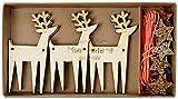 Meri Meri Wooden Reindeer Mini Garland