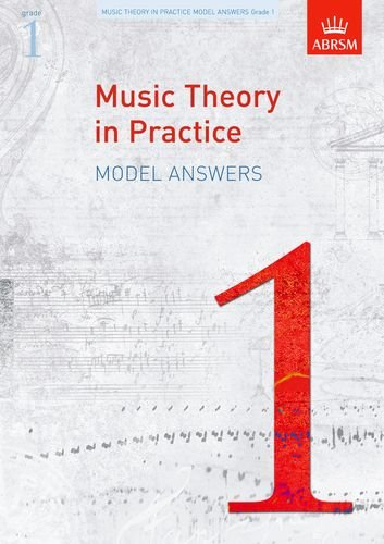 Music Theory in Practice Model Answers, Grade 1 (Music Theory in Practice (Abrsm)), Buch