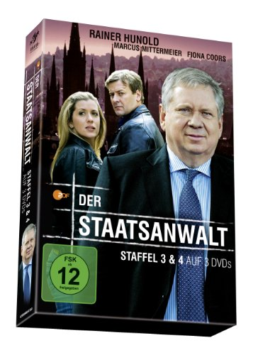 Der Staatsanwalt - Staffel 3 + 4 [3 DVDs]
