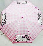 Hello Kitty Check Umbrella