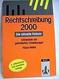 Rechtschreibung 2000. (3123206661) by Klaus Heller