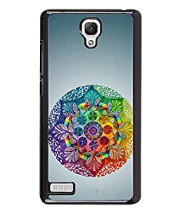 PRINTVISA Premium Metallic Insert Back Case Cover for Xiaomi Redmi Note 4G - D6119