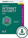 Digital Software - Kaspersky Internet Security 2016 - 1 PC / 1 Jahr Upgrade [PC Download]