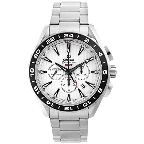 [オメガ]OMEGA 腕時計 シーマスターアクアテラ ホワイト文字盤 コーアクシャル自動巻 裏蓋スケルトン クロノグラフ 231.10.44.52.04.001 メンズ 【並行輸入品】