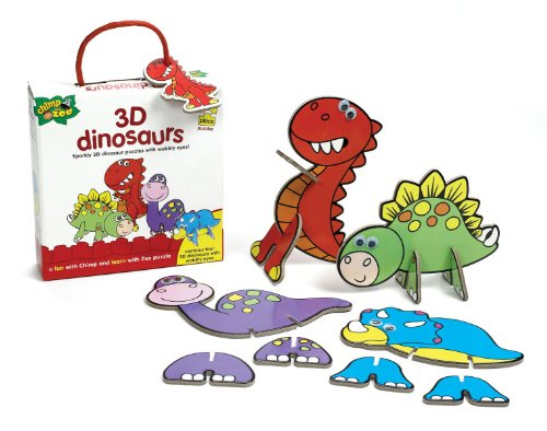 Chimp and Zee 3D Dinosaur Puzzles