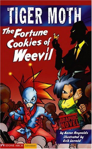 Tiger Moth: The Fortune Cookies of Weevil (Graphic Sparks Graphic Novels)