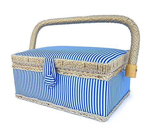 Best Price! bbloop Vintage Sewing Basket (sm) with Sewing Notions