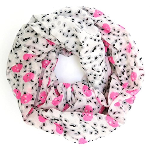 accessu-Echarpe-Foulard-pour-Femme-Skull-and-Spot-Fashion-Pattern