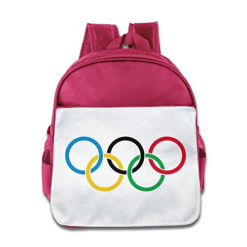 HAPYO 2016 Summer Olympic Games Backpack / Kids' School Backpack Pink