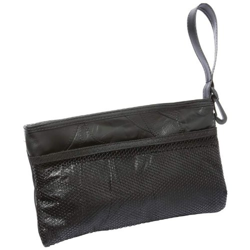 Incomparable Cosmetic Bags Standout Luggage Blk Gen Leather Jewelry Purse Exclusive