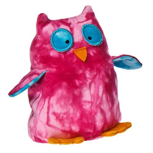 "Mary Meyer Happy Hippies Owl 4"" Plush Toy"