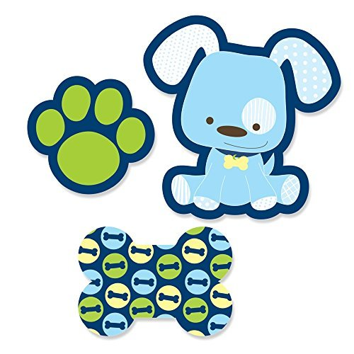 Boy Puppy Dog - DIY Shaped Party Cut-Outs - 24 Count