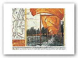 "The Gates XV by Javacheff Christo 7""x8.75"" Art Print Poster"