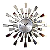 Funky Mirrored Genuine Wall Clock PHCL593