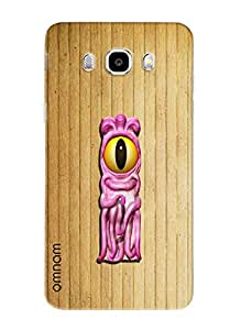 Omnam Single Name Stylish Alphabet I Printed Designer Back Cover Case For Samsung Galaxy J7 (2016)
