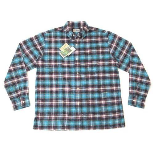 レインスプーナー(Reyn Spooner) 長袖シャツ reyn spooner チェックネルシャツ 0212-11-004(CH01) #0603青 (Mサイズ(アメリカサイズ))