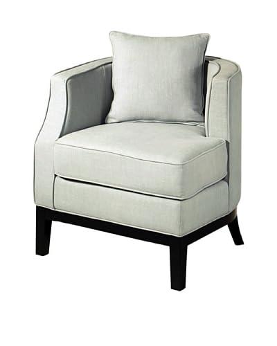 Abbyson Living Skylar Corner Chair, Sky Blue