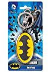 DC Batman Colored Logo Pewter Key Ring